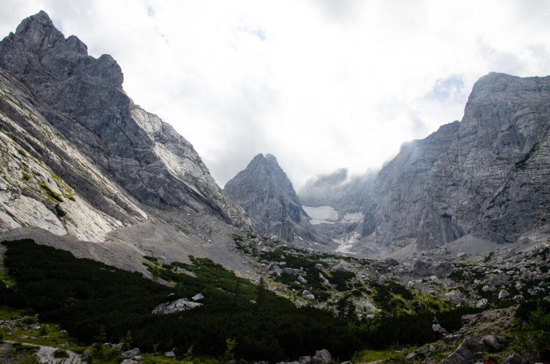 Blick zum Hochkalter Alpen