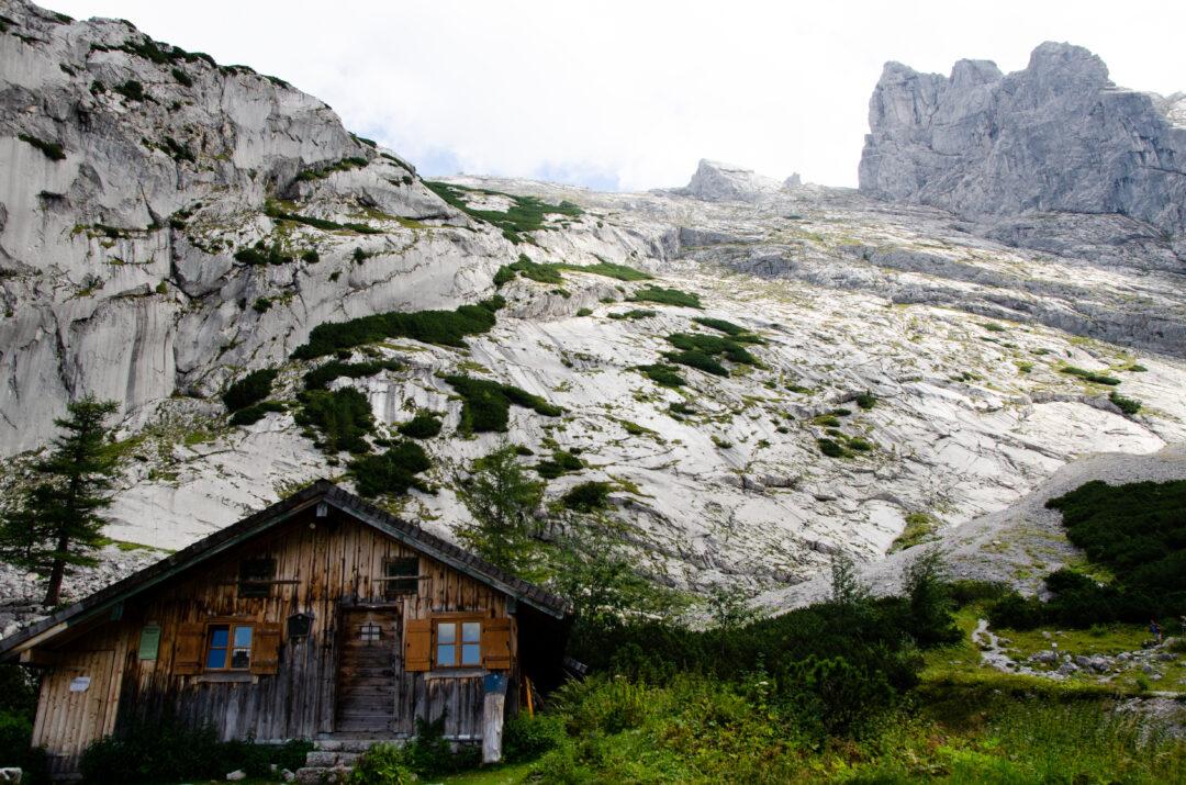 Hüttenlager am Blaueisgletscher